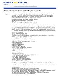 doc 728515 sample business continuity plan example templ cmerge