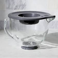 Kitchen Aid Standing Mixer by Kitchenaid Stand Mixer Glass Mixer Bowl Crate And Barrel
