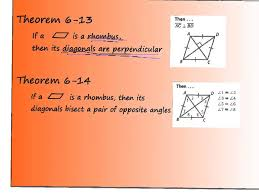 6 4 properties of rectangles rhombuses and squares youtube