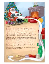 personalized letter from santa letter from santa personalized to your child addressed and mailed