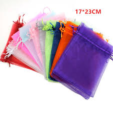 wholesale organza bags for sale wholesale organza bag 17x23 cm jewelry packaging display