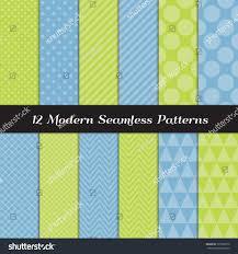Mixed Patterns by Mixed Polka Dot Chevron Stripes Geometric Stock Vector 137060372