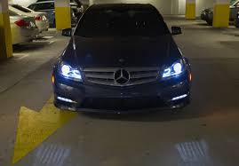 mercedes aftermarket headlights 12 14 w204 aftermarket amg style projector headlight mercedes