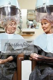 old ladies hair salon women at hair salon stock photo masterfile premium royalty