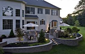 Lighting For Patios Patio Lighting Traditional Patio Philadelphia By Landscape