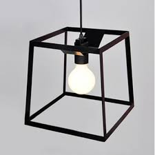 Wrought Iron Mini Pendant Lights Graceful And Chic Wrought Iron Cube Cage 9 8 Wide Designer Mini