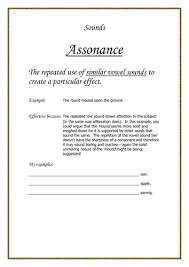 onomatopoeia rhyme and assonance worksheets by temperance