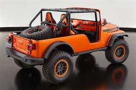 jeep safari concept interior jeep unveils several concept vehicles for 2017 moab easter jeep