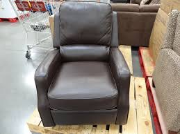 Brown Leather Recliner Chairs Synergy Caroline Leather Recliner Swivel Glider