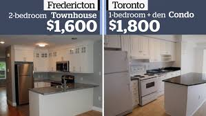 what toronto u0027s average monthly rent of 1 800 gets you in cities