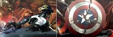 avengers age of ultron black widow wallpapers avengers age of ultron prop images ultron cap u0027s broken shield