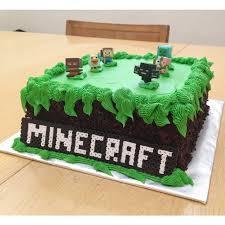 minecraft cake by nellievance on deviantart