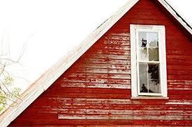 rustic red barn gable window farmhouse decor alabama wall art