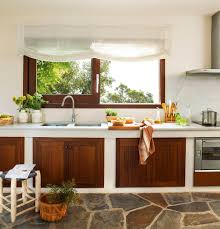 cocina rústica con mueblebajo cocinas pinterest ideas para