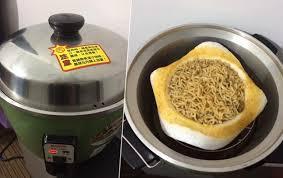 pat鑽e cuisine omg 即食碗麵用電飯煲加熱究竟變成點 即時新聞 兩岸 20170221
