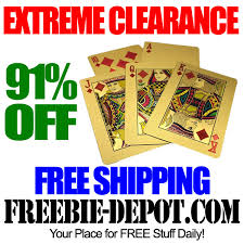 clearance 24kt gold plated cards 99 99 purity