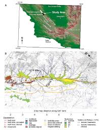 San Andreas Fault Line Map Three Dimensional Excavation And Recent Rupture History Along The