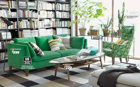 home interior catalog 2014 fabulous ikea furniture catalog 2014 home library with green sofa