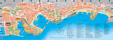 Map Of Mediterranean Countries Monaco Tourist Map Monaco U2022 Mappery Research For Chasing Ivan
