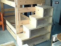 Bunk Bed Plans Free Bunk Bed Ladder Plans Finishing Dowel Rod On Loft Bed Ladder