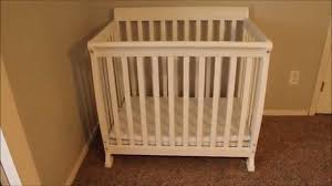 Davinci Kalani 4 In 1 Convertible Crib Reviews by Davinci Kalani Mini Crib Review Youtube