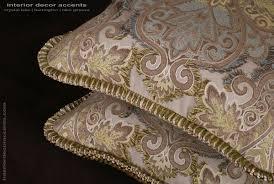 pierre frey piqued embroidery elegant designer pillows