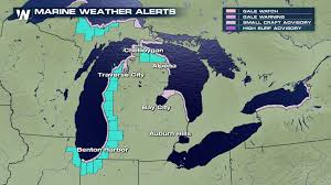 Weather Map Michigan by Hazardous Beach Conditions For Michigan On Wednesday Weathernation