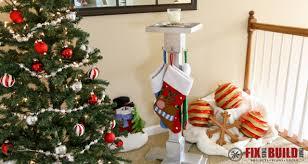 christmas holder diy christmas hanger fixthisbuildthat