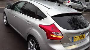 ford focus titanium silver ford focus titanium 5dr 2 0 tdci moondust silver 2012 for sale at