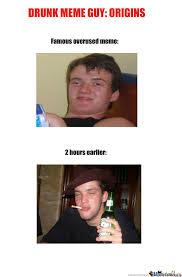 Origin Of Meme - drunk guy meme origins by recyclebin meme center