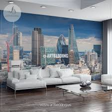 Wall Murals For Living Room Afternoon London Wall Mural Uk Photo Mural Uk Wall Décor