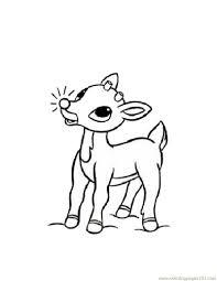 baby deers coloring page free deer coloring pages