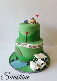 surprise golf themed cake for an 80th birthday cakecentral com