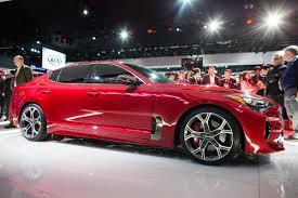 sports cars 2017 the kia stinger is a sports sedan that sizzles in a sea of