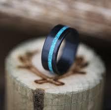 black zirconium wedding bands vertigo in turquoise black zirconium available in black