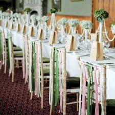 chair ribbons 8 best alternative wedding chair decor images on