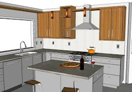custom home designers utilize sketchup for brilliant results kitchen design using sketchup photogiraffe me