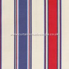 Blue And Red Striped Curtains Sandbanks Fabric Collection Prestigious Textiles Curtains