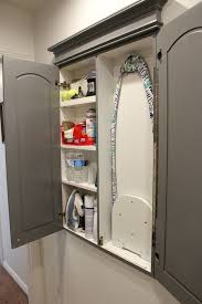 ironing board closet cabinet 50 laundry storage and organization ideas ironing boards board