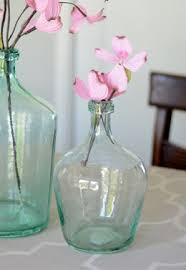 Turquoise Glass Vase Glass Jars U0026 Bottles Decorative U0026 Mason Saveoncrafts