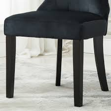 Elegant Modern Parsons Chair Leather Set Of 2 Dining Chair Tufted Fabric Button Elegant Modern Armless
