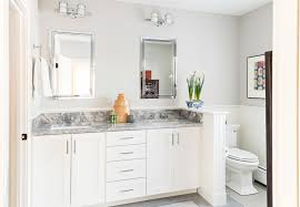 45 Inch Bathroom Vanity 45 Inch Bathroom Transitional With Corner Mirror Medicine Cabinets
