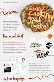 newsletter cuisine impressive email newsletter designs