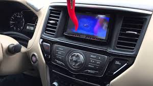 nissan pathfinder youtube 2015 2014 nissan pathfinder installed a pioneer apple carplay radio