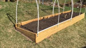 How To Make Swing Bed by Raised Garden Bed How To Make An Easy Access Cover Youtube