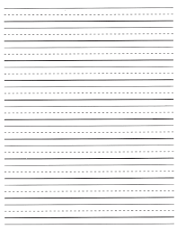 printable horizontal lined writing paper printable lined paper for first grade 1st grade writing paper