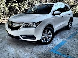 acura mdx vs lexus turned up acura mdx lexus rx 350 and mazda cx 9 traveling in