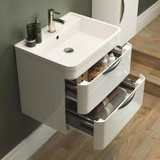 Wall Hung Vanity Units Wall Mounted Basin Units For The Bathroom - Bathroom basin and cabinet 2