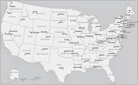 Eastern States Map by Geography