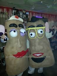 U0026 Potato Head Costume Coolest Potato Head Couple Halloween Costume